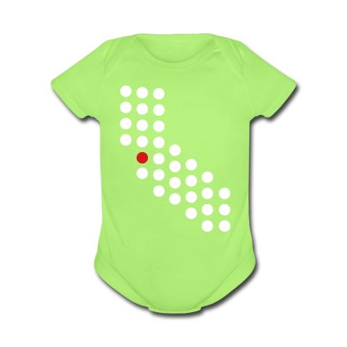 Bay Area, CA - Baby - Short Sleeve Baby Bodysuit