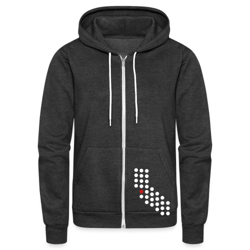 Bay Area, CA - Unisex - Unisex Fleece Zip Hoodie