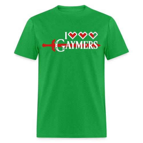 I Heart Gaymers Zelda - Men's T-Shirt