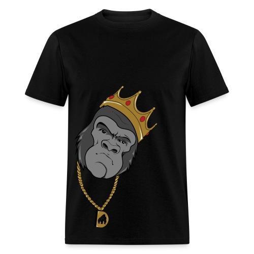 Biggie Gorilla Gold Tee - Men's T-Shirt