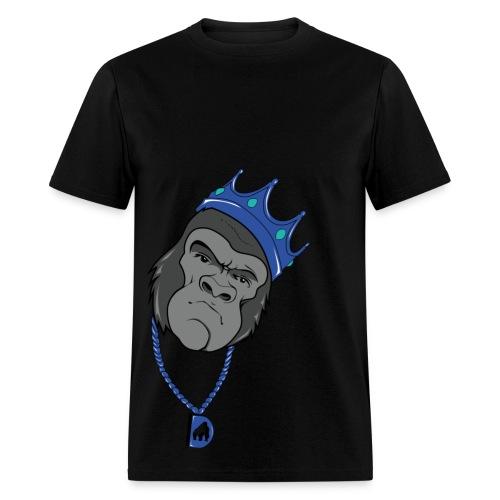 Biggie Gorilla Blue Tee - Men's T-Shirt