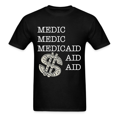 Medicaid Bling (Mens T-Shirt) - Men's T-Shirt