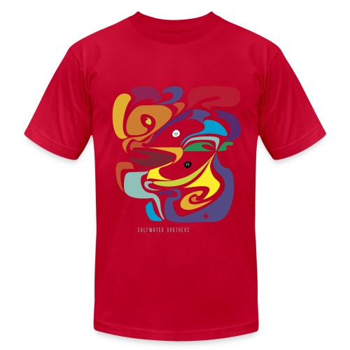 Saltwater Brothers t-shirt - Men's Fine Jersey T-Shirt