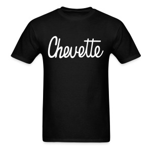 Chevette script lettering - Men's T-Shirt