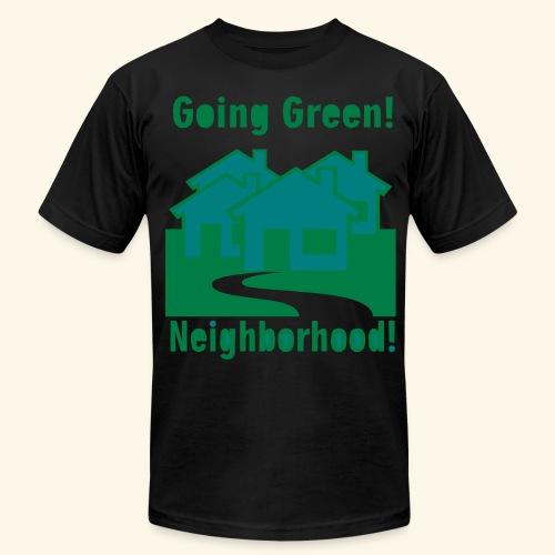 Going Green Neighborhood - Men's  Jersey T-Shirt