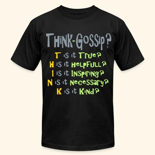 Think Gossip? - Men's  Jersey T-Shirt