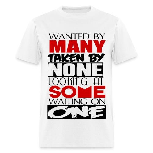 Wanted - Men's T-Shirt