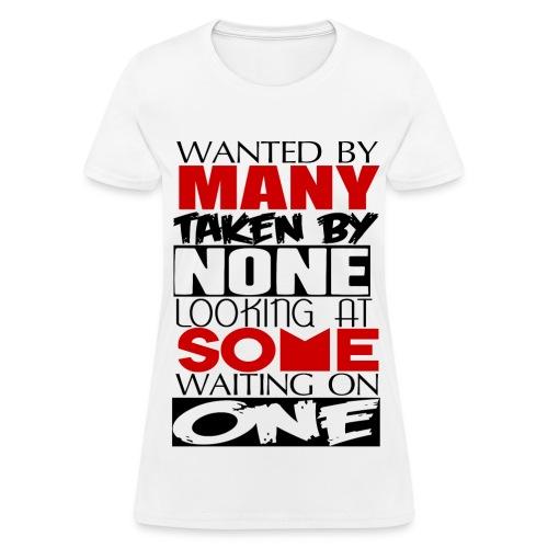 Wanted - Women's T-Shirt
