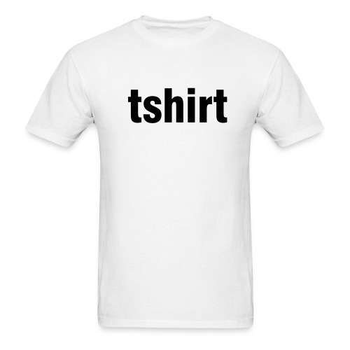 generic T White - Men's T-Shirt