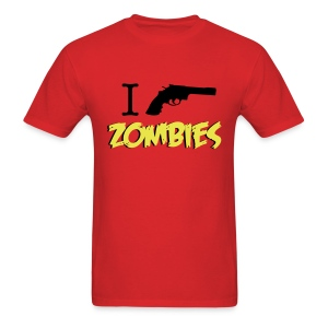 Walking Dead - I Shoot Zombies - men short sleeve t-shirt - Men's T-Shirt
