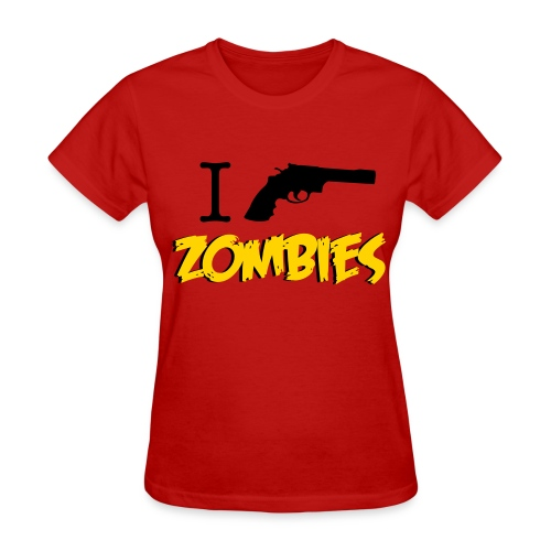 Walking Dead - I Shoot Zombies - girl short sleeve t-shirt - Women's T-Shirt
