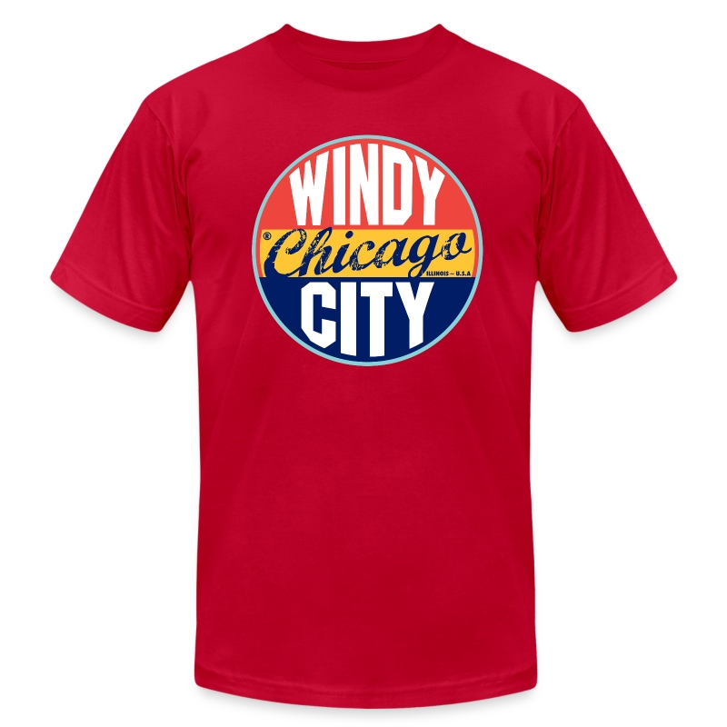 chicago vintage label t shirt spreadshirt