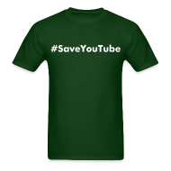 T-Shirts ~ Men's T-Shirt ~ #SaveYouTube