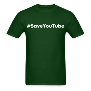 #SaveYouTube - Men's T-Shirt
