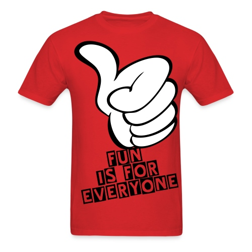 fun is for everyone - Men's T-Shirt