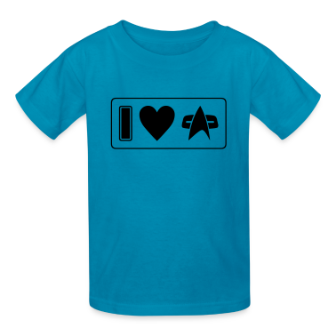 I love Trekkies - VECTOR Kids' Shirts