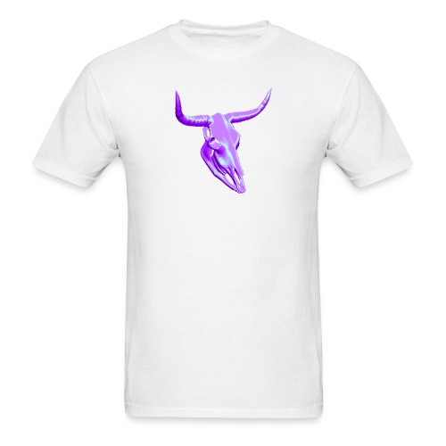 Horny Skull - Men's T-Shirt