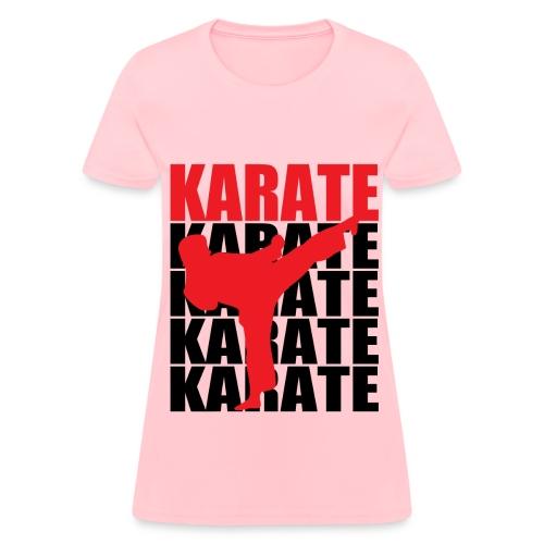 Karate - Women's T-Shirt