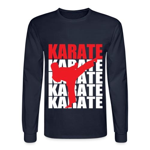 Karate - Men's Long Sleeve T-Shirt