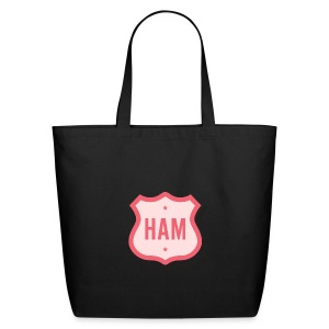Ham Badge Eco-Friendly Cotton Tote - Eco-Friendly Cotton Tote