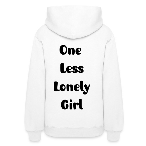 One Less Lonely Girl  - Women's Hoodie