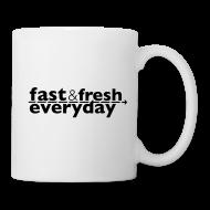 Mugs & Drinkware ~ Coffee/Tea Mug ~ Coffee Mug -- Fast and Fresh Everyday
