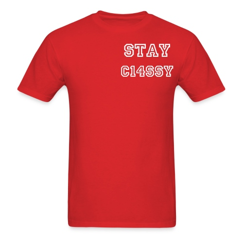 The school likes this one - Men's T-Shirt