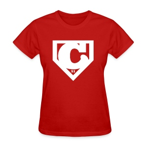 Womens Super Chooch Home Plate Version - Women's T-Shirt