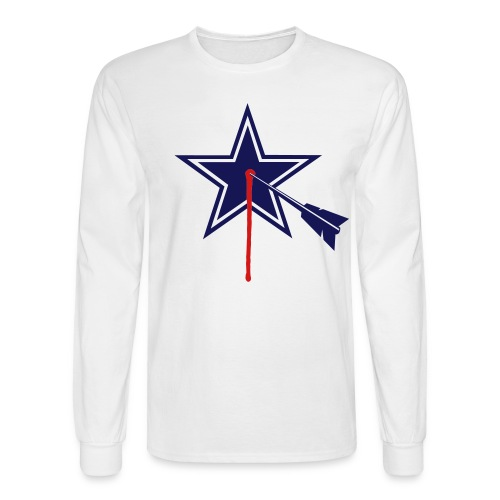 STARGET 2-color Long Sleeve - Men's Long Sleeve T-Shirt