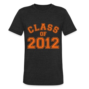 Class of 2012 T-Shirt - Unisex Tri-Blend T-Shirt by American Apparel