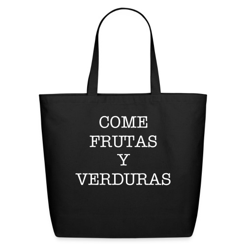 BOLSA COME F Y V - Eco-Friendly Cotton Tote
