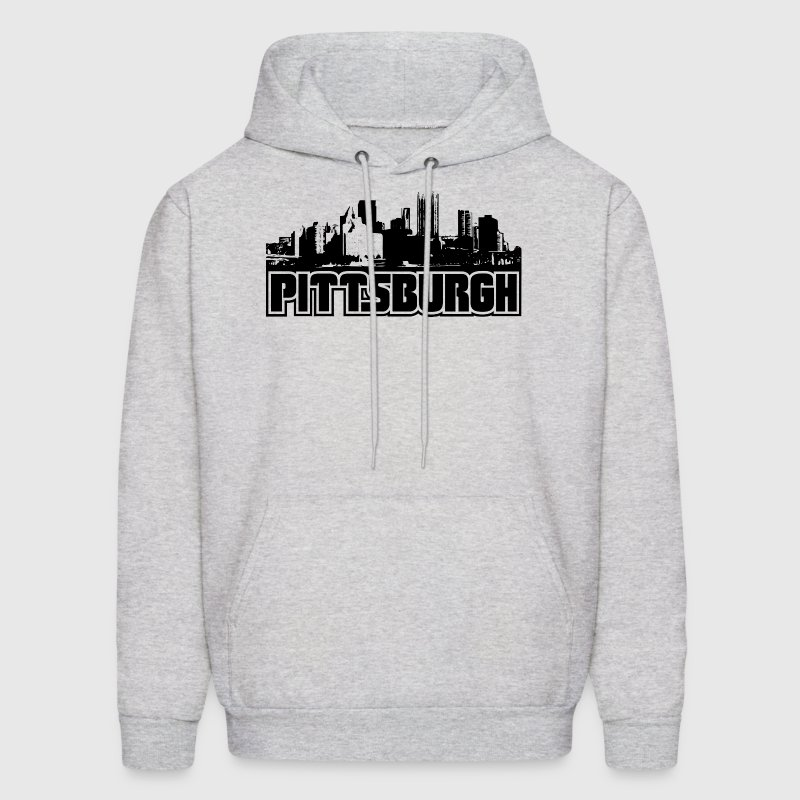 Pittsburgh Skyline Hooded Sweatshirt - Men's Hoodie
