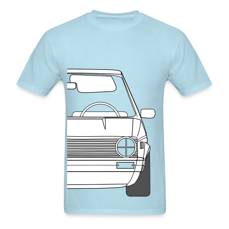Automotive Classic: Dub MK1, Stanced - Men's T-Shirt