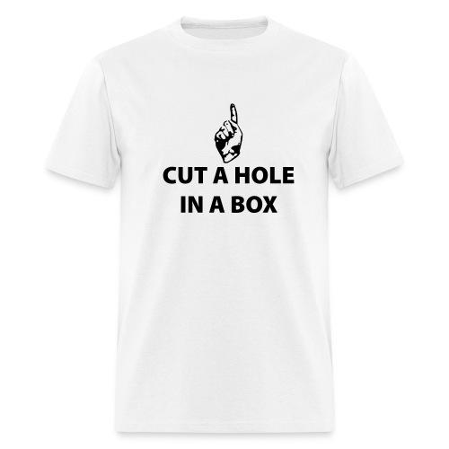 Dick in a Box T Shirt - Men's T-Shirt