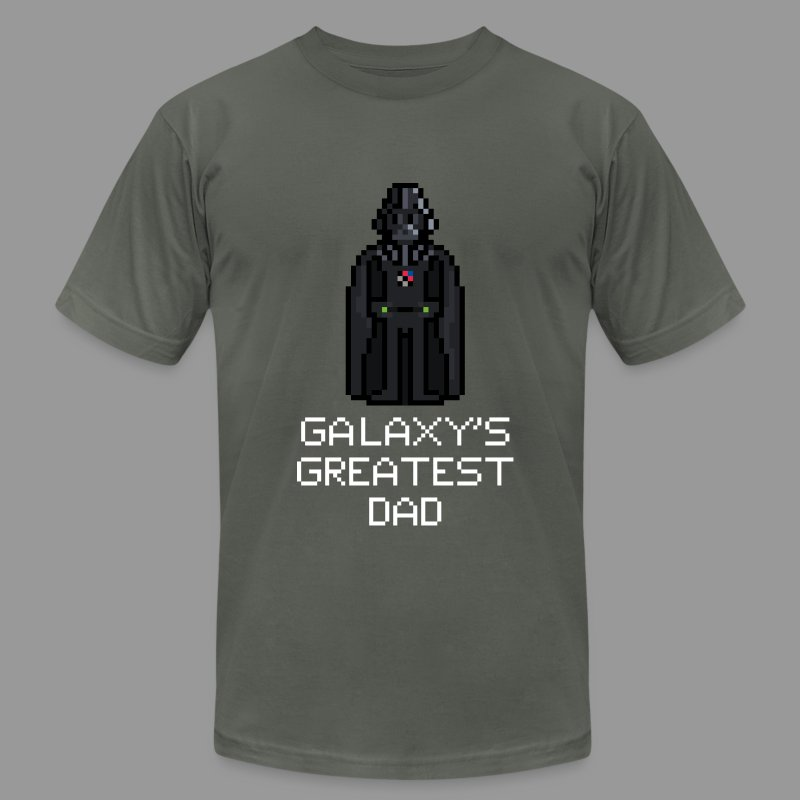 Galaxy's Greatest Dad 1 - Men's T-Shirt by American Apparel