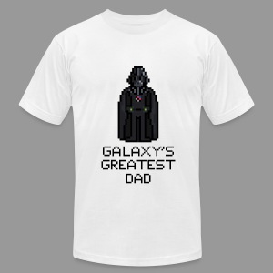 Galaxy's Greatest Dad 2 - Men's T-Shirt by American Apparel