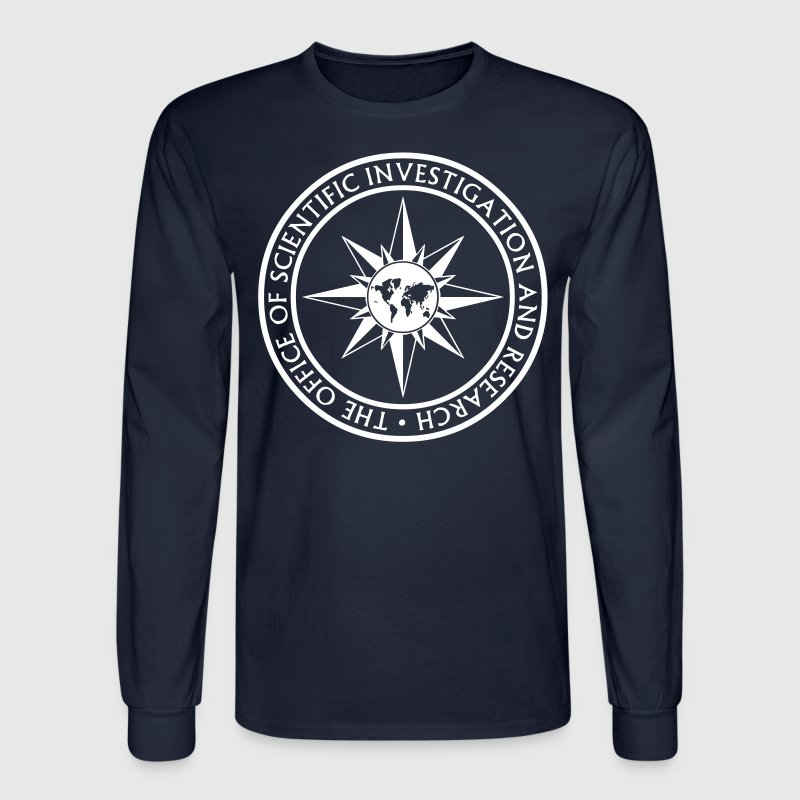Office of Scientific Investigation and Research - VECTOR Long Sleeve Shirts - Men's Long Sleeve T-Shirt