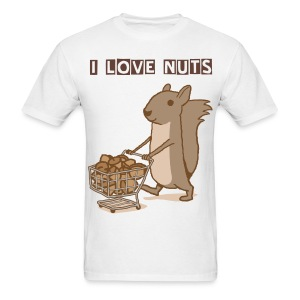 I Love Nuts - Men's T-Shirt