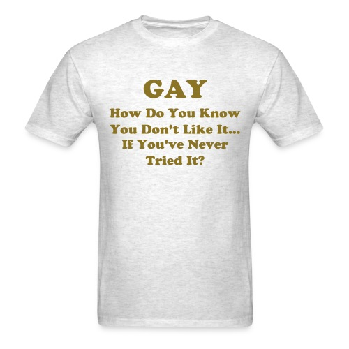 Gay (mens) - Men's T-Shirt