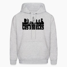 Los Angeles Skyline Hooded Sweatshirt