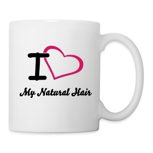 SN&LI! I Heart My Natural Hair Mug - Coffee/Tea Mug