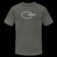 T-Shirts ~ Men's T-Shirt by American Apparel ~ Ham Infographic Men's Slim T-Shirt by American Apparel