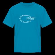 Kids' Shirts ~ Kids' T-Shirt ~ Ham Infographic Kids' T-shirt