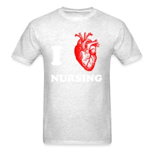 I Love Nursing - Men's T-Shirt