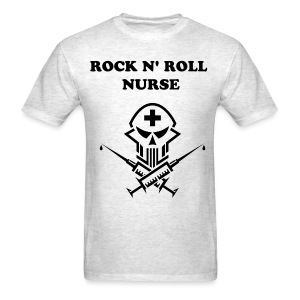 Rock N' Roll Nurse - Men's T-Shirt