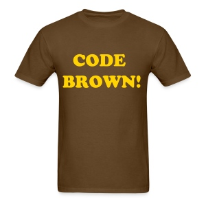 Code brown - Men's T-Shirt