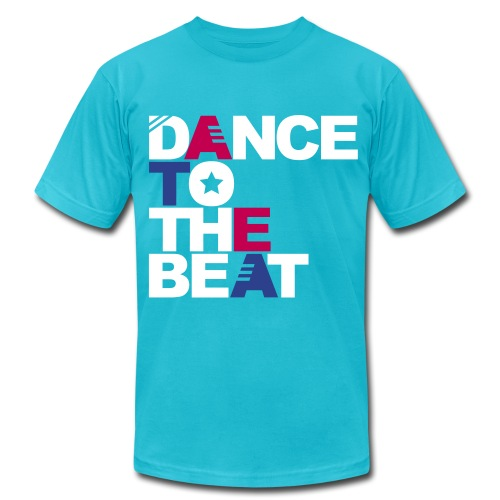 Dance To The Beat - Men's Fine Jersey T-Shirt