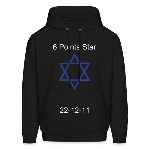 6 Points Star - Men's Hoodie