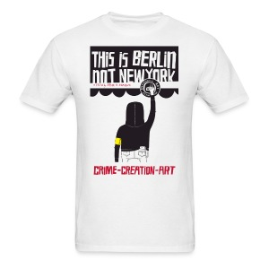 This is Berlin Not New York, Design by Brett Farkas - Men's T-Shirt