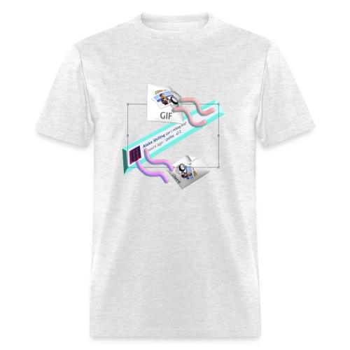 reblog ?? the Alaké SHilling Tshirt - Men's T-Shirt